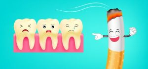 what smoking does to your teeth